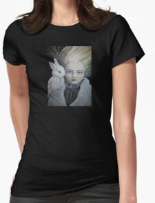 WITCH'S FAMILIAR Womens Fitted T-Shirt
