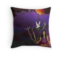 A Peace Of Mind   Throw Pillow