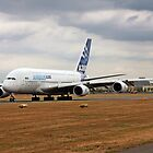 Airbus A380 at Farnborough by Colin Hollywood Photography