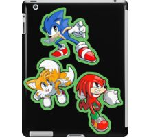 Sonic the Hedgehog - Sonic, Tails, and Knuckles iPad Case/Skin