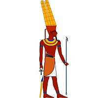 Amun | Egyptian Gods, Goddesses, and Deities Photographic Print