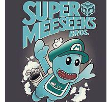 Super Meeseeks Bros Photographic Print