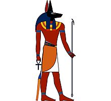 Anubis | Egyptian Gods, Goddesses, and Deities Photographic Print