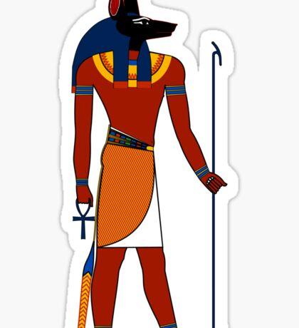 Anubis | Egyptian Gods, Goddesses, and Deities Sticker