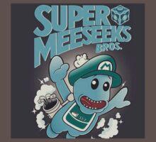 Super Meeseeks Bros by boostedartwork