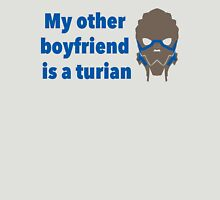 Turian Boyfriend Shirt Womens Fitted T-Shirt