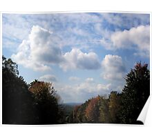 Leaving Harriman State Park Poster