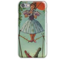 Mansion Haunted Stretching Room Painting iPhone Case/Skin