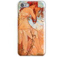 Mucha Summer iPhone Case/Skin