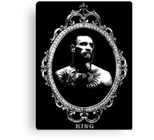 "Conor McGregor ""King"" Version 1 Canvas Print"