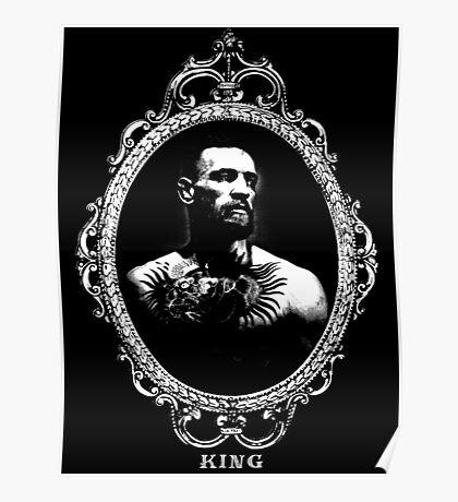 "Conor McGregor ""King"" Version 1 Poster"