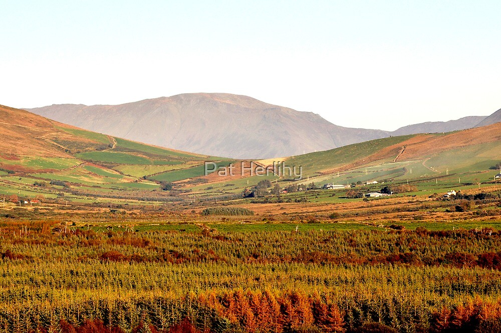 Autumn in the Valley,  Anascaul, Co. Kerry by Pat Herlihy
