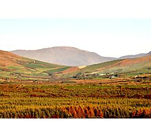 Autumn in the Valley,  Anascaul, Co. Kerry Photographic Print
