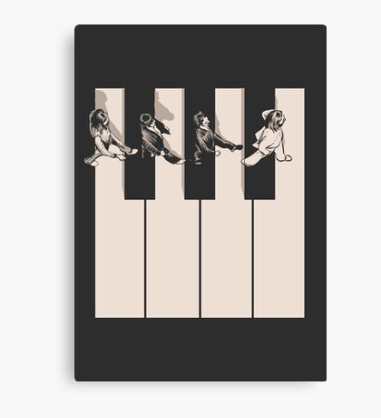 Music is the way Canvas Print