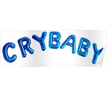 Cry Baby Balloons Poster