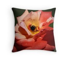 Buzzzy Bee  Throw Pillow