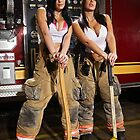 Caution: Models At Work - The Firefighters by Jeff Zoet