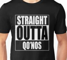 Straight OUTTA Qo'noS - Star Trek Unisex T-Shirt