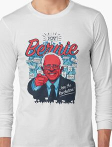 Bernie Sanders Revolution Long Sleeve T-Shirt