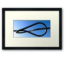 Knot of steel Framed Print