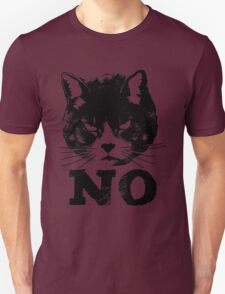 Angry Cat Says NO T-Shirt
