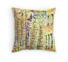 The old Staircase Throw Pillow