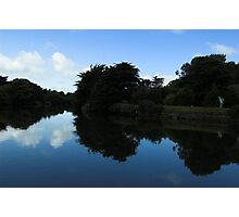 Mirror Image - Sulby River Photographic Print