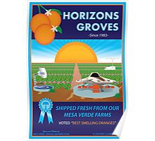 Horizons Groves Poster