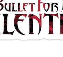 "Bullet For My Valentine ""The Poison"" Logo Sticker"