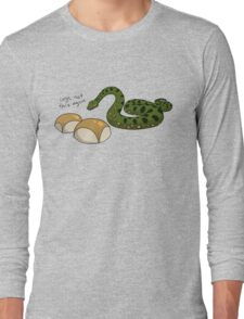 Anacondas Seriously Don't Even Like Buns Long Sleeve T-Shirt