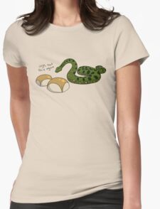 Anacondas Seriously Don't Even Like Buns Womens Fitted T-Shirt