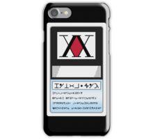 HUNTER LICENSE For Iphone - Hunter x Hunter  iPhone Case/Skin