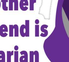 Quarian Girlfriend Shirt Sticker