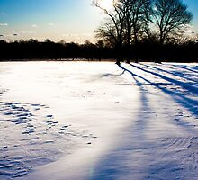 Winter Park and Snow Drifts by Benjamin Manning