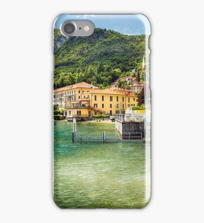 Menaggio Lake Front Terrace iPhone Case/Skin