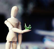 Paper Crane by ShereenM