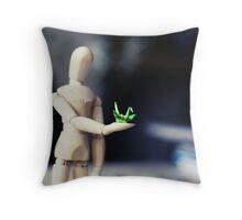 Paper Crane Throw Pillow