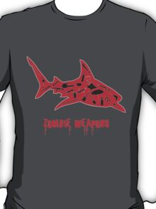 The best zombie weapon is a shark? T-Shirt