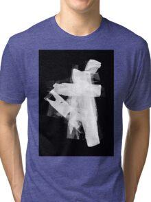 PRINT – Offset ink 3 Tri-blend T-Shirt