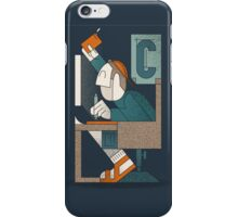 The Writing Man iPhone Case/Skin