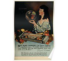 Advertisements Photoplay Magazine July through December 1919 0109 Adams California Fruit Gum Poster