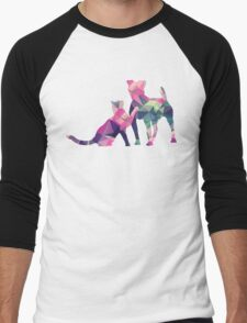 Moggy and Pooch #1. Pink&Green. Take your best friend everywhere. T-Shirt