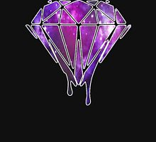 Melting Diamond Galaxy Unisex T-Shirt