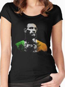 "Conor McGregor ""Irish Colors"" Women's Fitted Scoop T-Shirt"