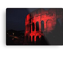 ROME - Colosseum in red - October 10th 2010 - # 1 Metal Print