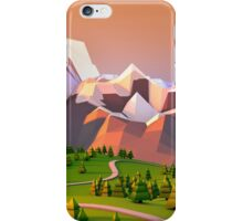 Polygon Mountain iPhone Case/Skin