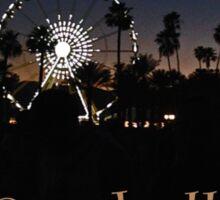 Coachella Vibes Sticker