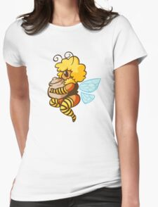 Bumble Buzz Womens Fitted T-Shirt
