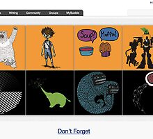 The Black and Gold of It - 13 October 2010 by The RedBubble Homepage
