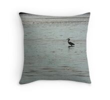 Homer Crane Throw Pillow